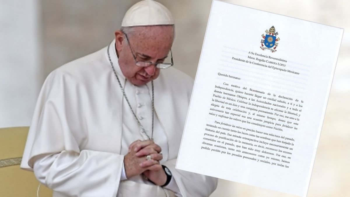 Carta del Papa a México